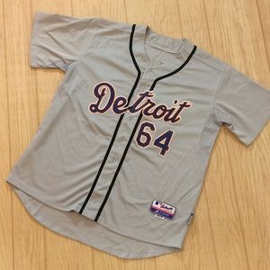 Detroit Tigers Baseball Below Jersey